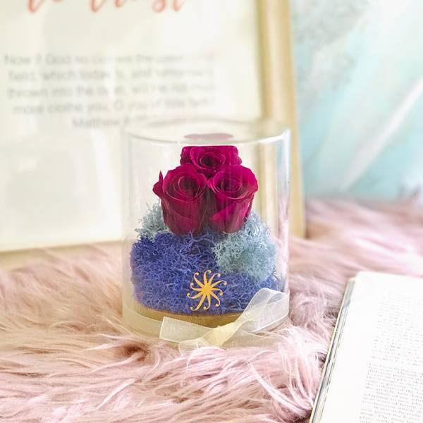 Floral Jar - Purple Rain