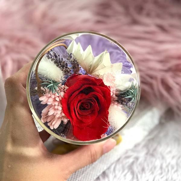 Floral Jar - Red Hot!