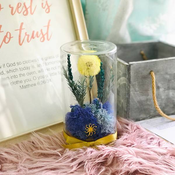Floral Jar - Love, Hope and Happiness