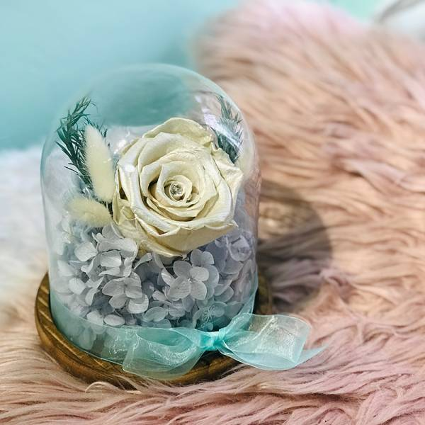 Floral Dome - White Winter